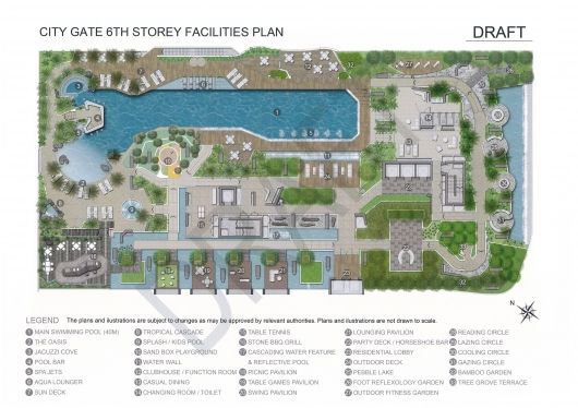 CityGate Facilities Plan